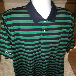 Ralph Lauren RLX wicking casual golf polo shirt 2X
